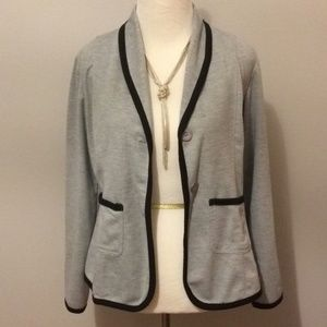 3 for $20// Soft gray blazer